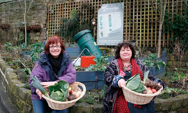 Pam Warhurst e Mary Clea