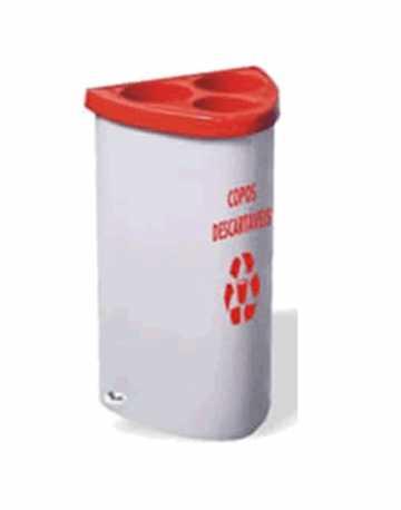 Dispensador Baby para Copos Descartáveis (140 copos) em (Fiberglass)