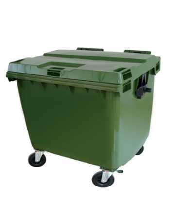 Lixeira Container Plástico com Rodas