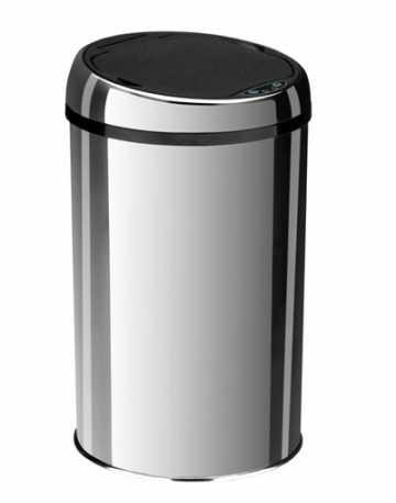 Lixeiras Inox com Sensor de Proximidade