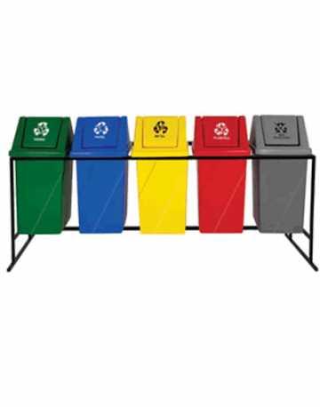 Lixeiras para Descarte de todos os tipos de Lixos 52 litros