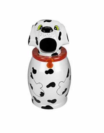 Lixeira Decorativa Infantil Modelo Cachorro Dalmata 80 litros