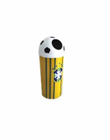 Lixeira para a Copa do Mundo