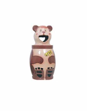 Lixeira Decorativa Infantil Urso