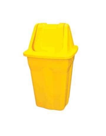 Cesto de lixo com tampa basculante 50 litros