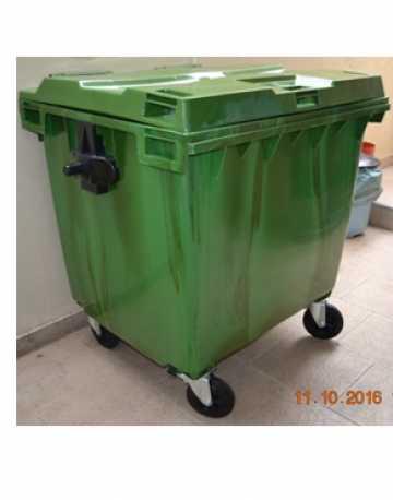 Container Mesclado 1000 Litros Verde
